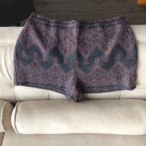 Ecote Women's Printed Shorts, 8